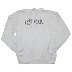 Light Gray Athletic Hoodie