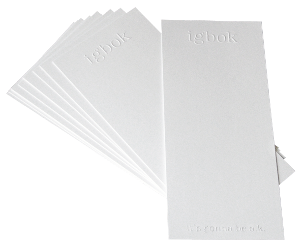 igbok Notecards