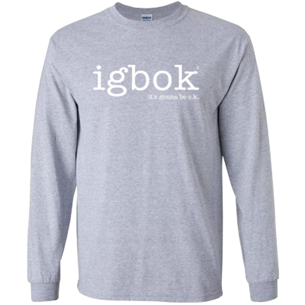 Long Sleeve Grey T-shirt - igbok®
