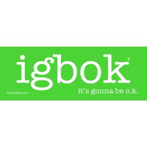 igbok stickers - 1 pack, limegreen