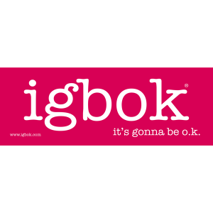 igbok stickers - 1 pack, pink