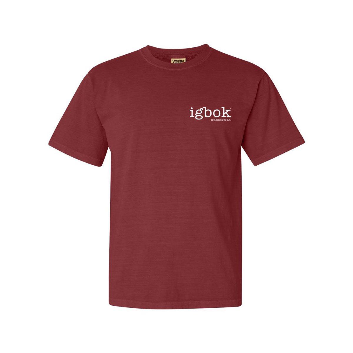 Igbok® Comfort Colors® T-Shirt – Red Brick